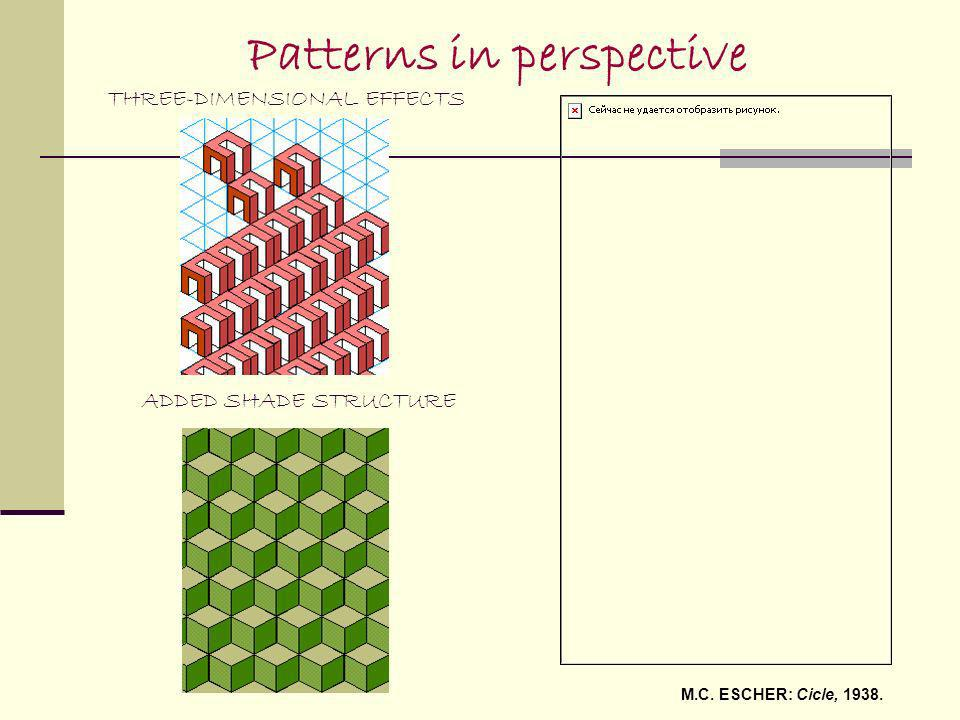 Patterns in perspective