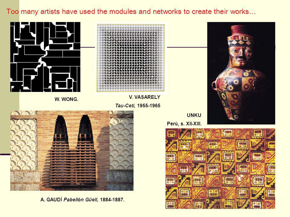 Too many artists have used the modules and networks to create their works…
