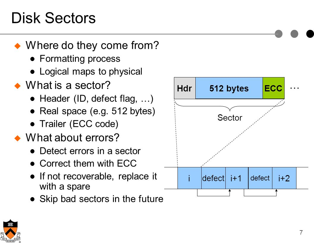Disk Sectors Where do they come from What is a sector