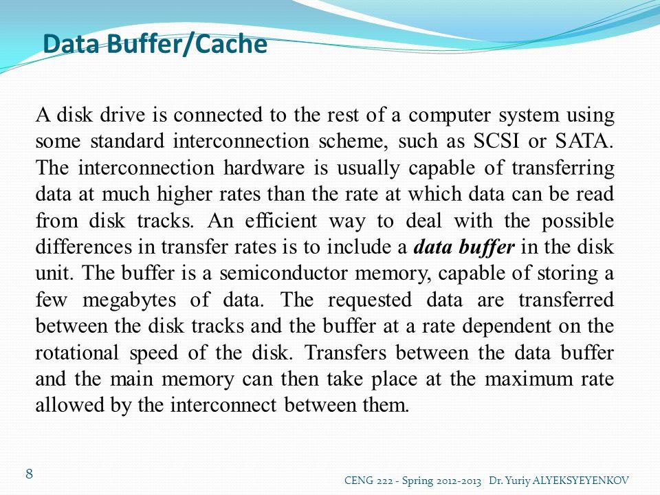 Data Buffer/Cache