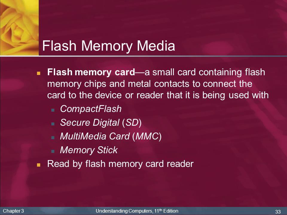 Flash Memory Media