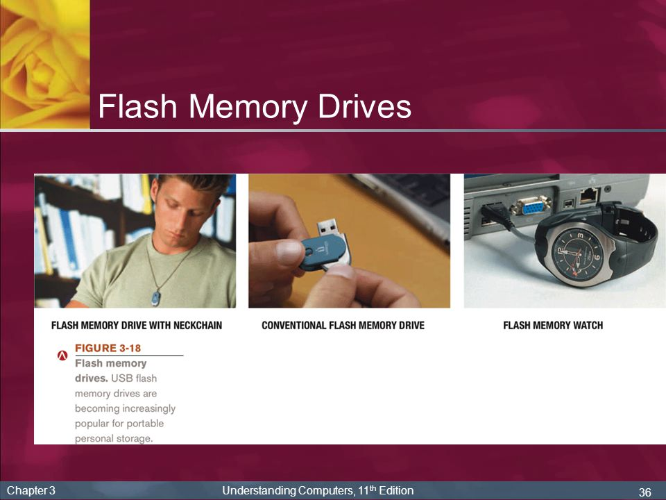 Flash Memory Drives Chapter 3 Understanding Computers, 11th Edition