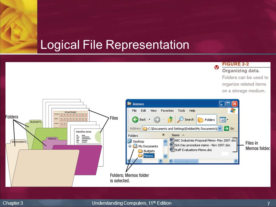 Logical File Representation