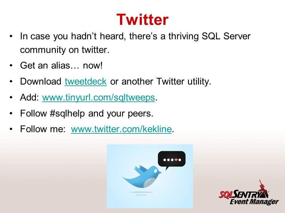 Questions Send questions to me at: kkline@sqlsentry.net