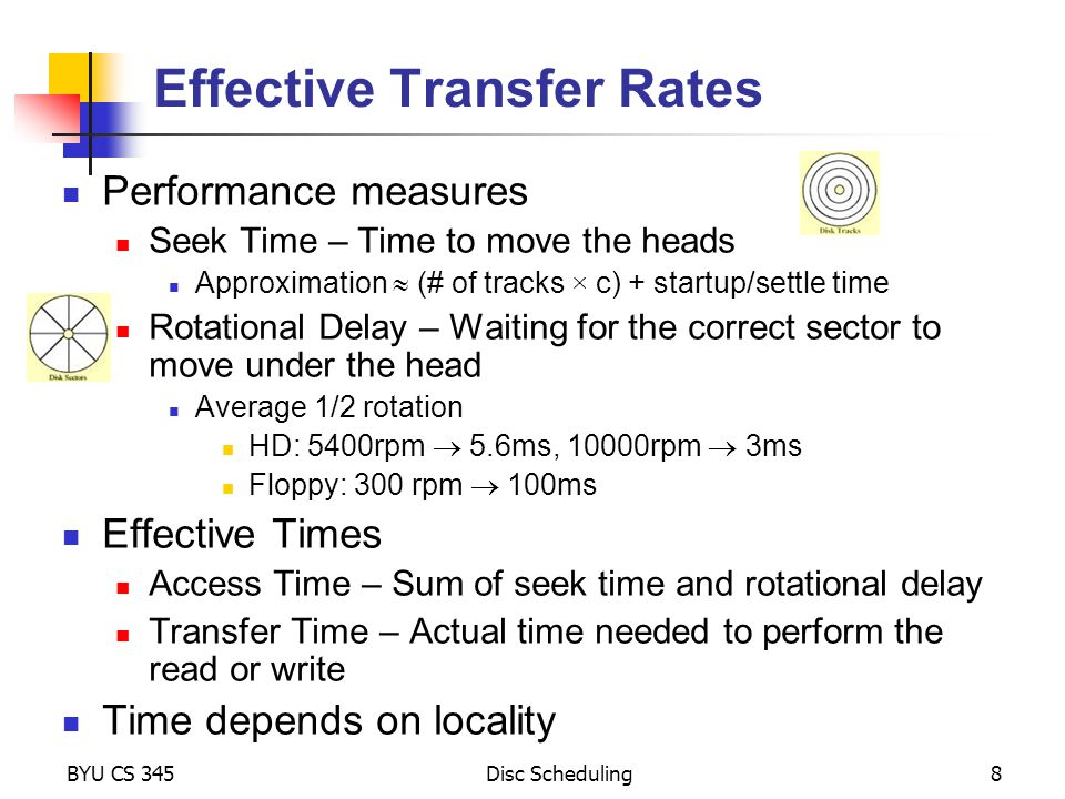 Effective Transfer Rates