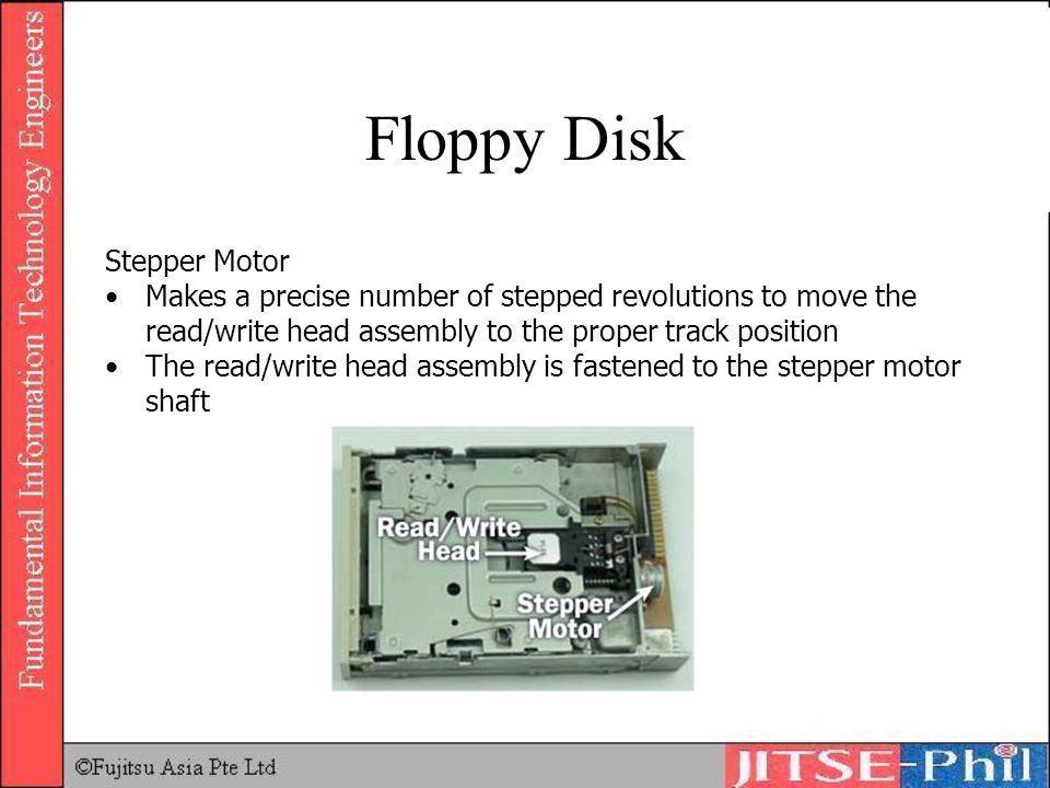 Floppy Disk Stepper Motor