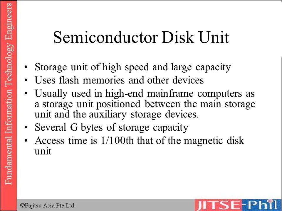 Semiconductor Disk Unit