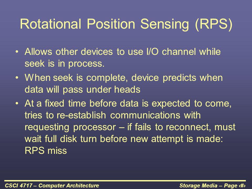 Rotational Position Sensing (RPS)