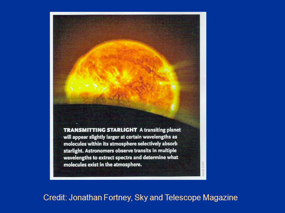 Credit: Jonathan Fortney, Sky and Telescope Magazine