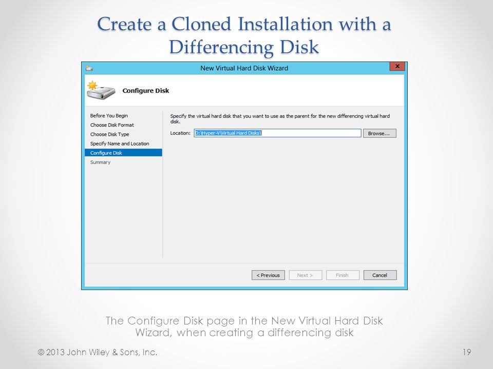Create a Cloned Installation with a Differencing Disk