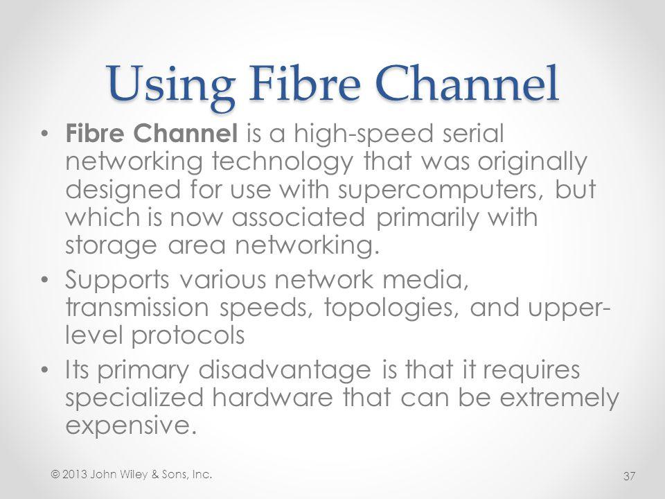 Using Fibre Channel