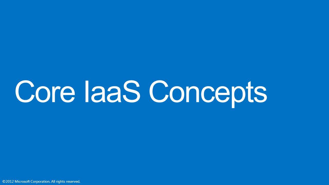Core IaaS Concepts
