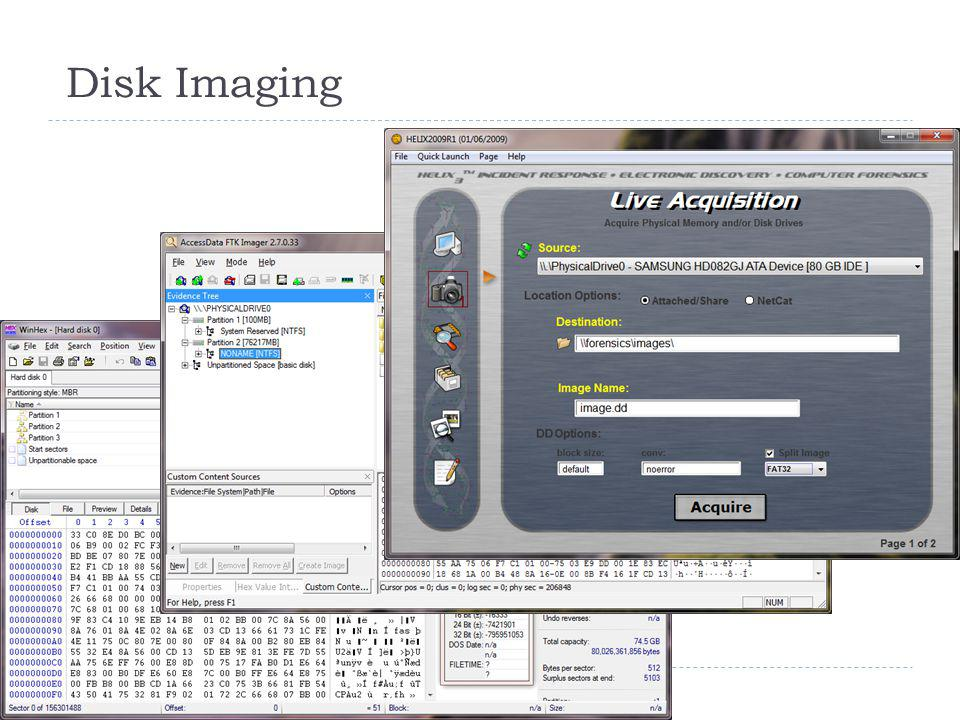 Disk Imaging