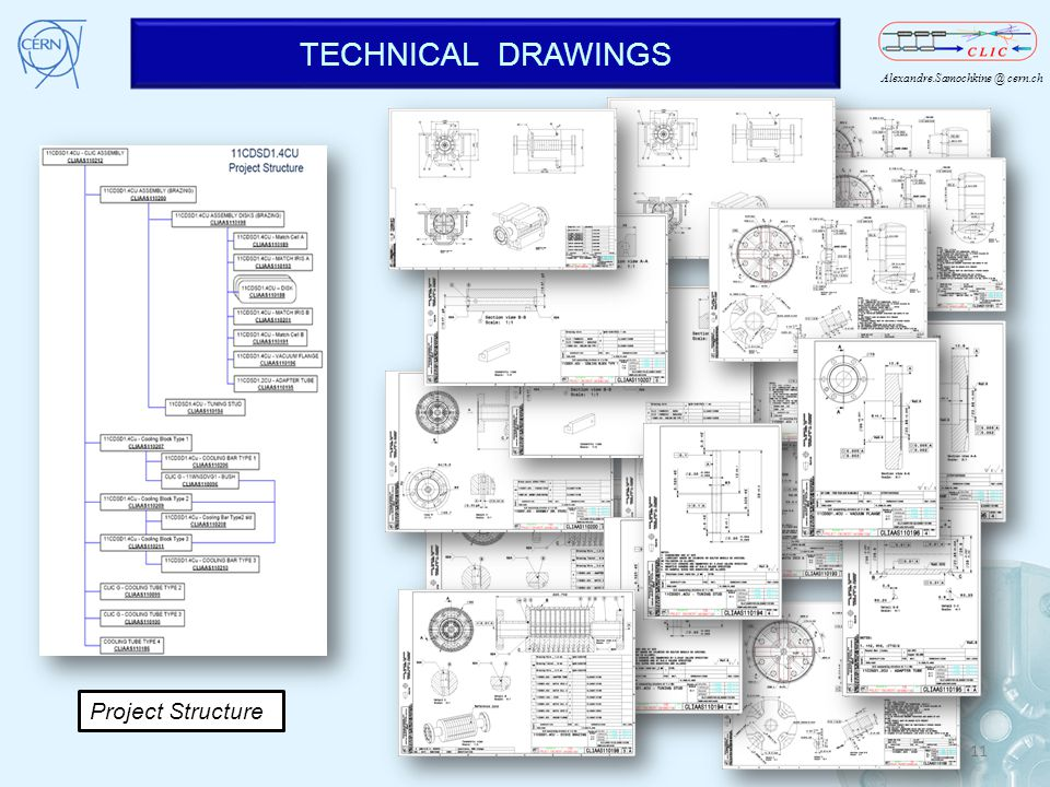 TECHNICAL DRAWINGS Project Structure