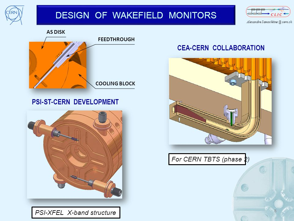 DESIGN OF WAKEFIELD MONITORS