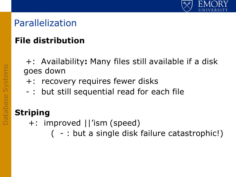 Parallelization File distribution