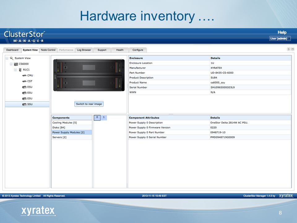 Hardware inventory ….