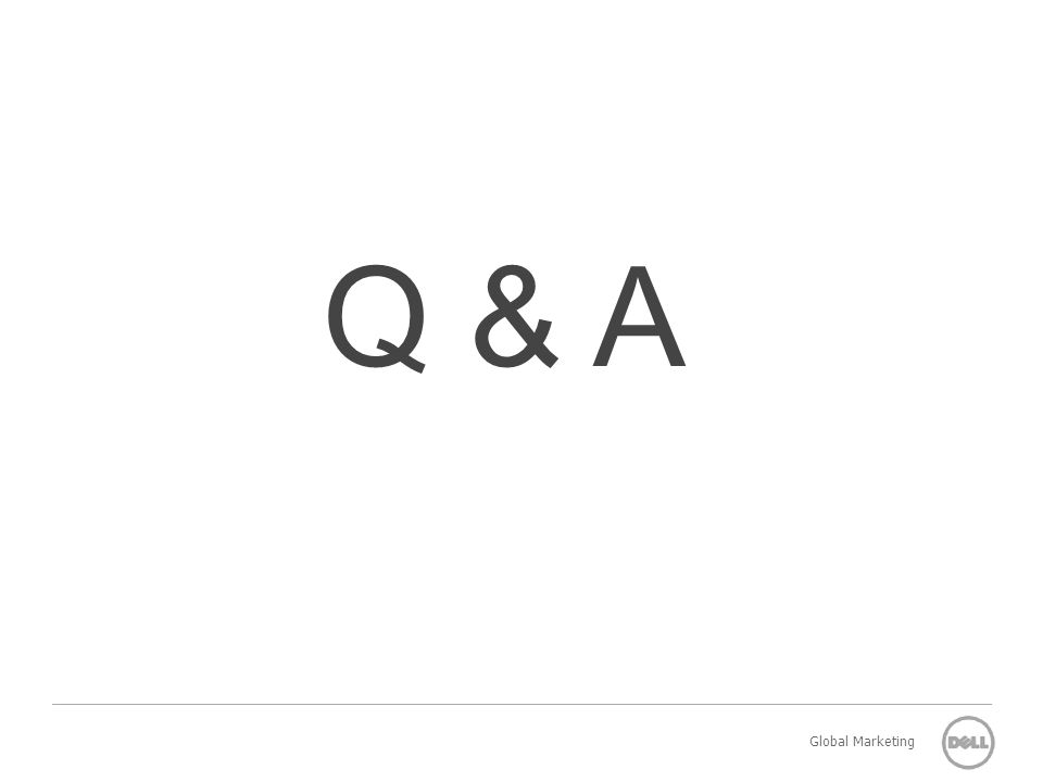 Q & A Global Marketing