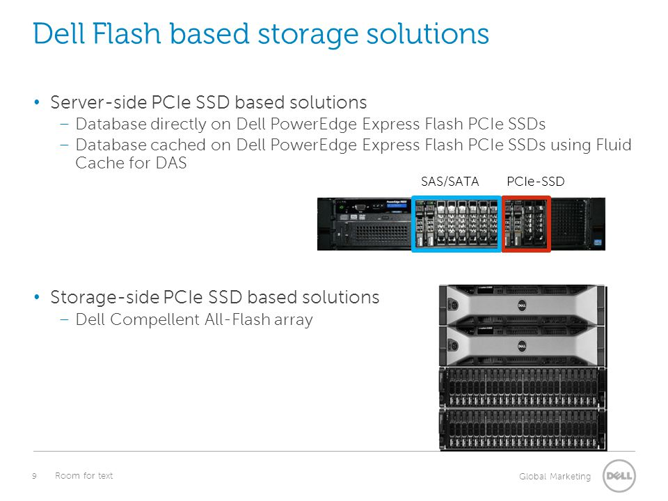 Dell Flash based storage solutions