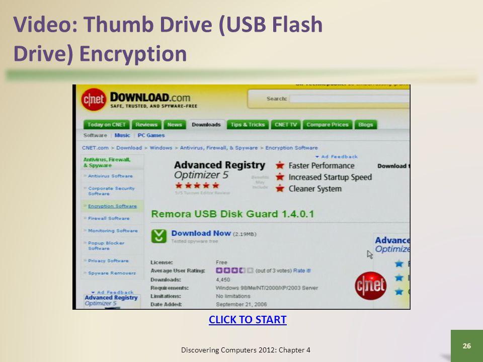 Video: Thumb Drive (USB Flash Drive) Encryption