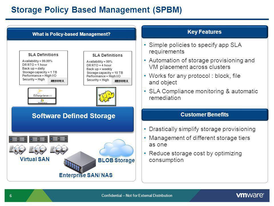 Storage Policy Based Management (SPBM)
