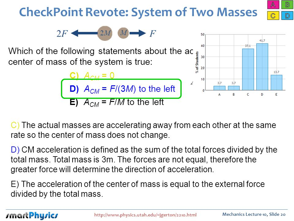CheckPoint Revote: System of Two Masses