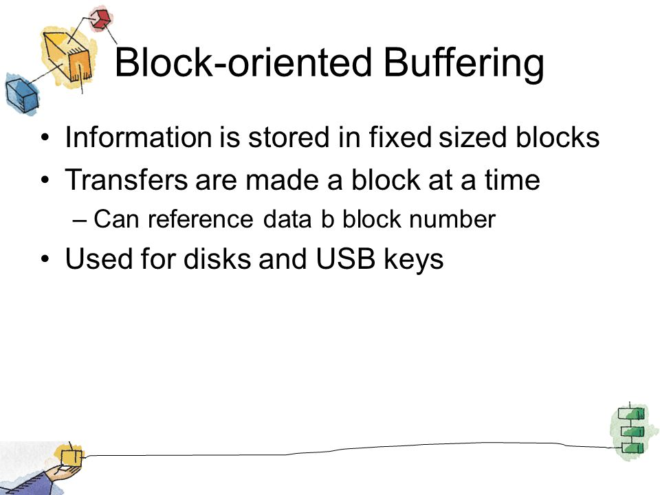 Block-oriented Buffering