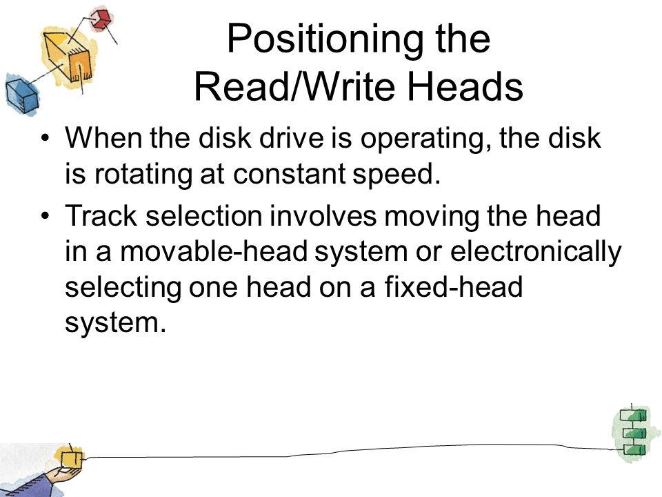 Positioning the Read/Write Heads