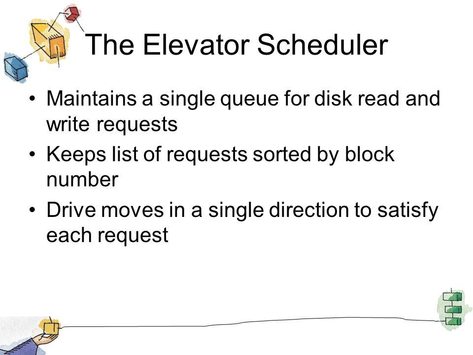 The Elevator Scheduler