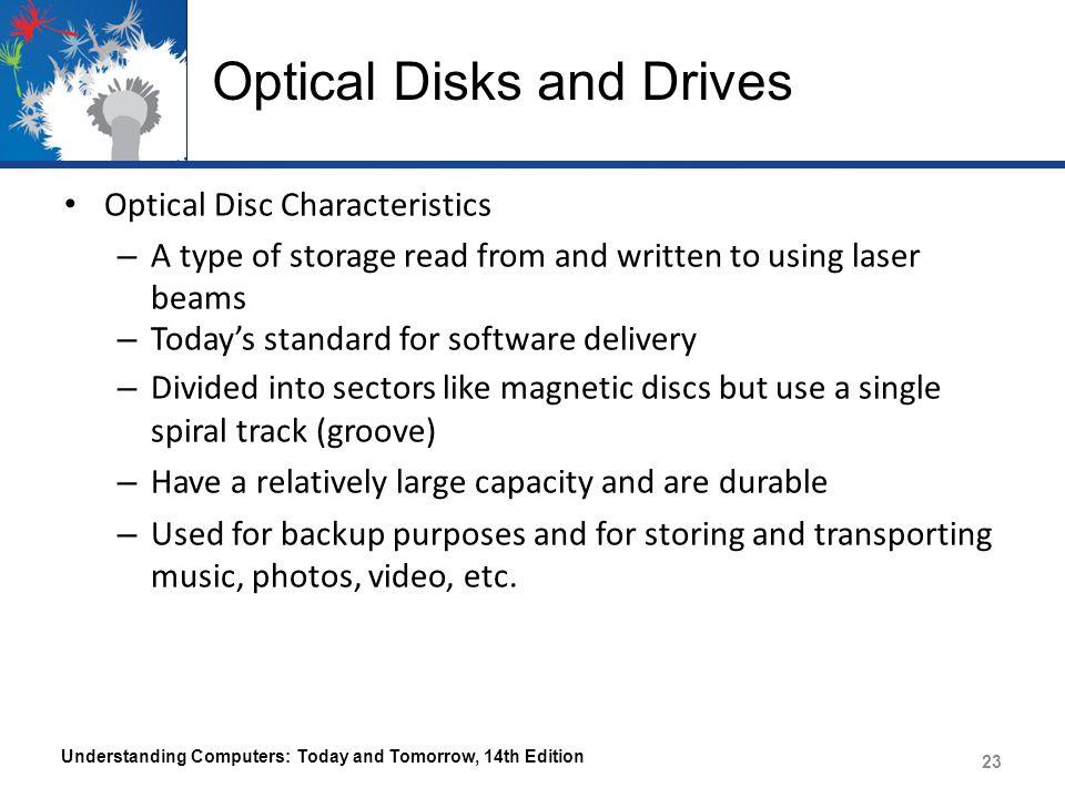 Optical Disks and Drives