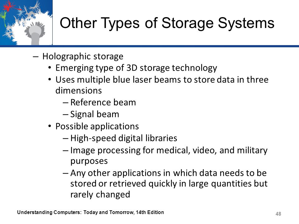 Other Types of Storage Systems