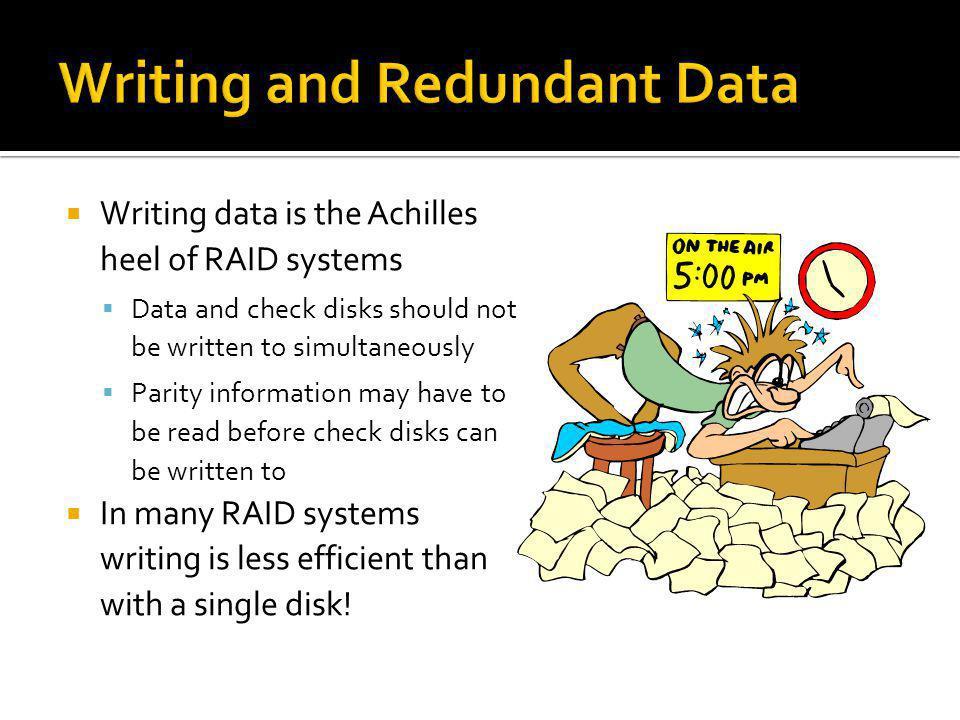 Writing and Redundant Data