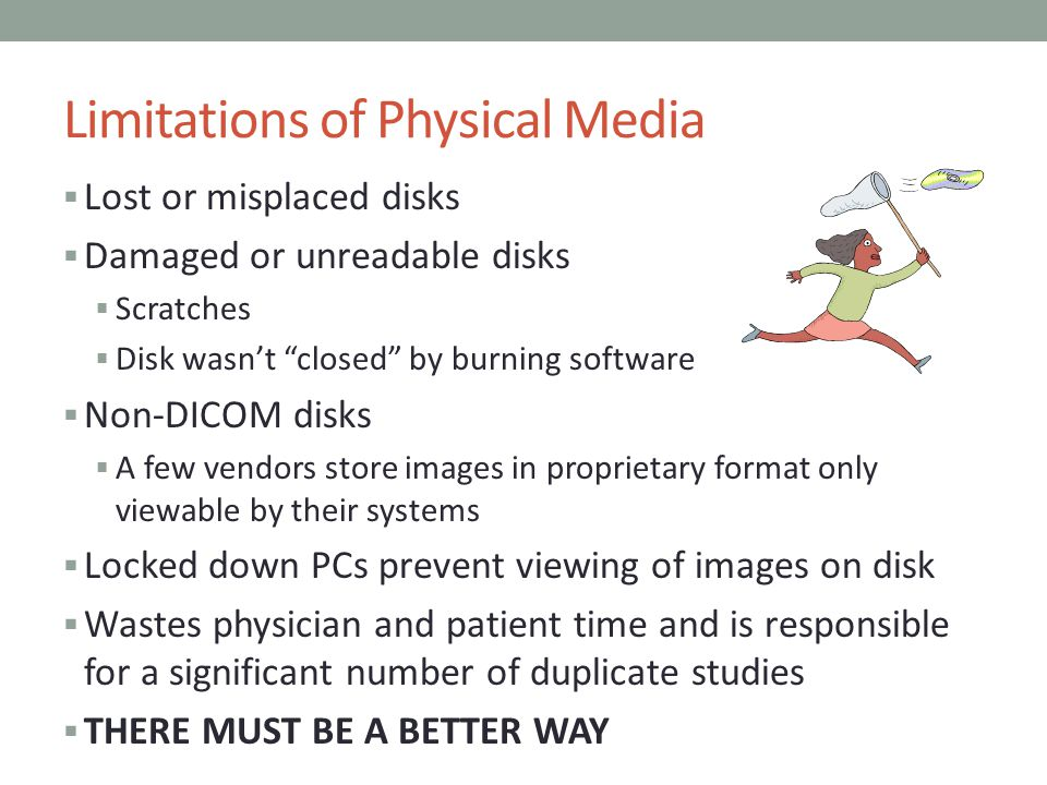 Limitations of Physical Media