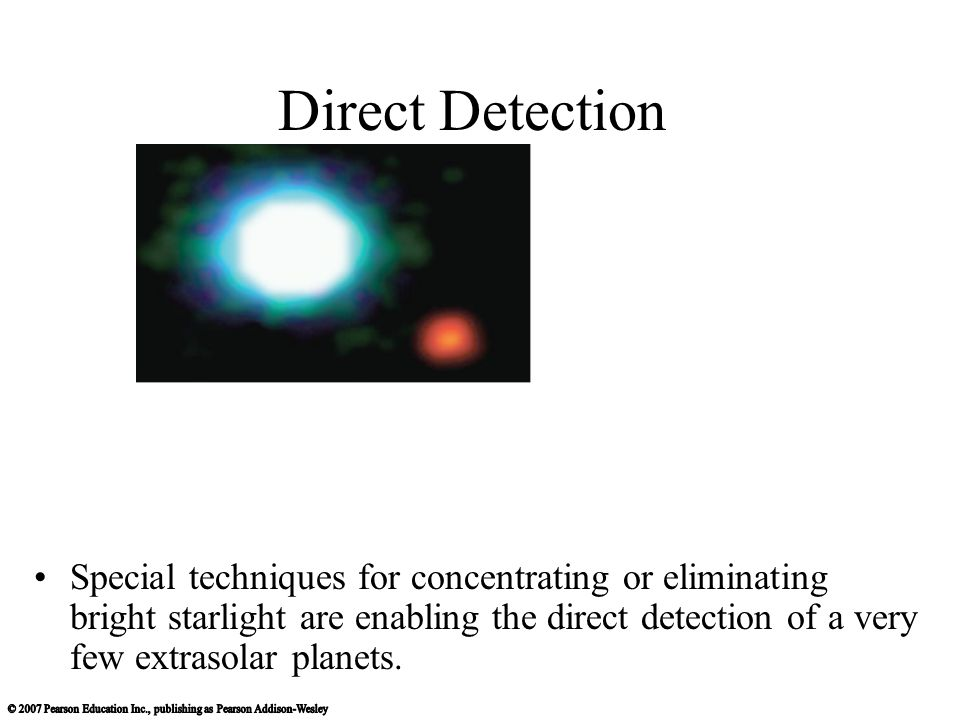 Direct Detection