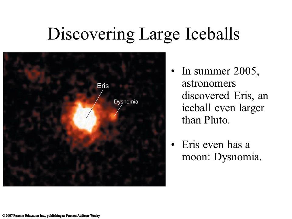 Discovering Large Iceballs