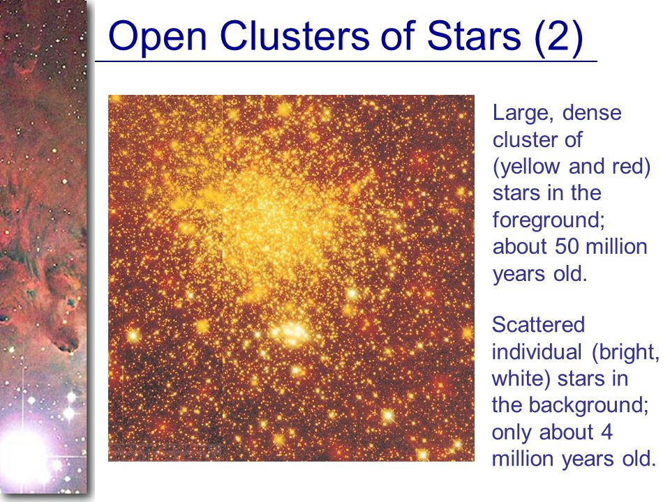 Open Clusters of Stars (2)