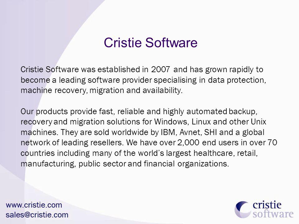 Cristie Software