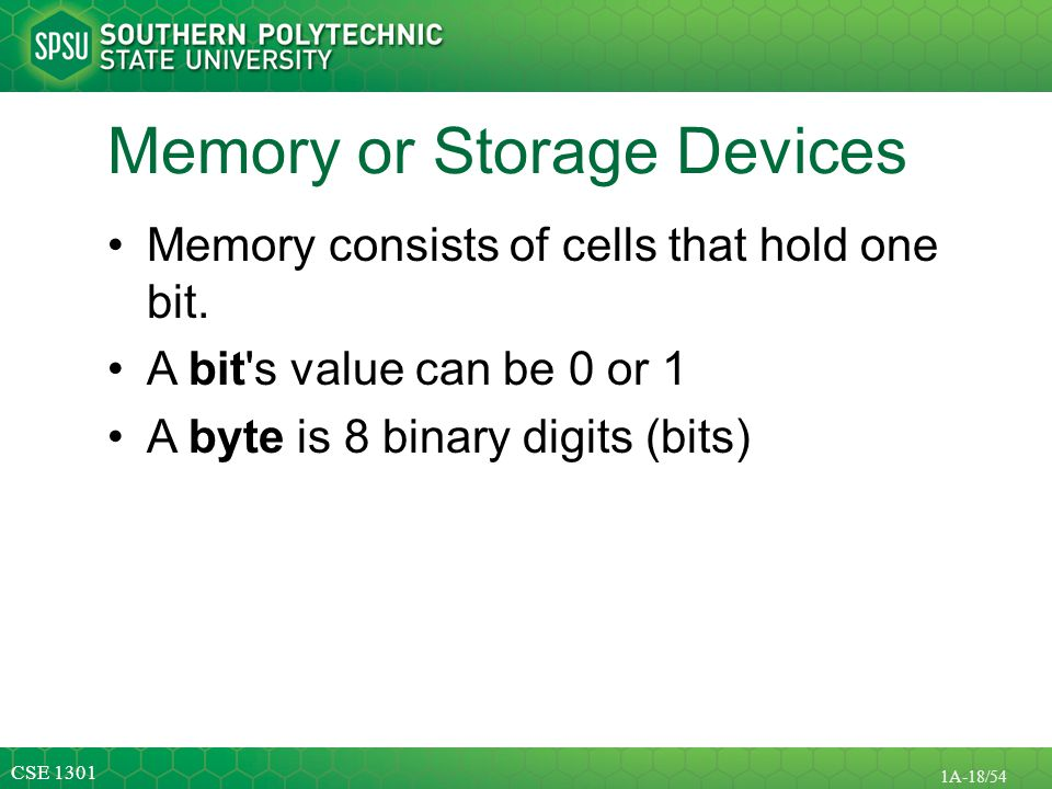 Memory or Storage Devices