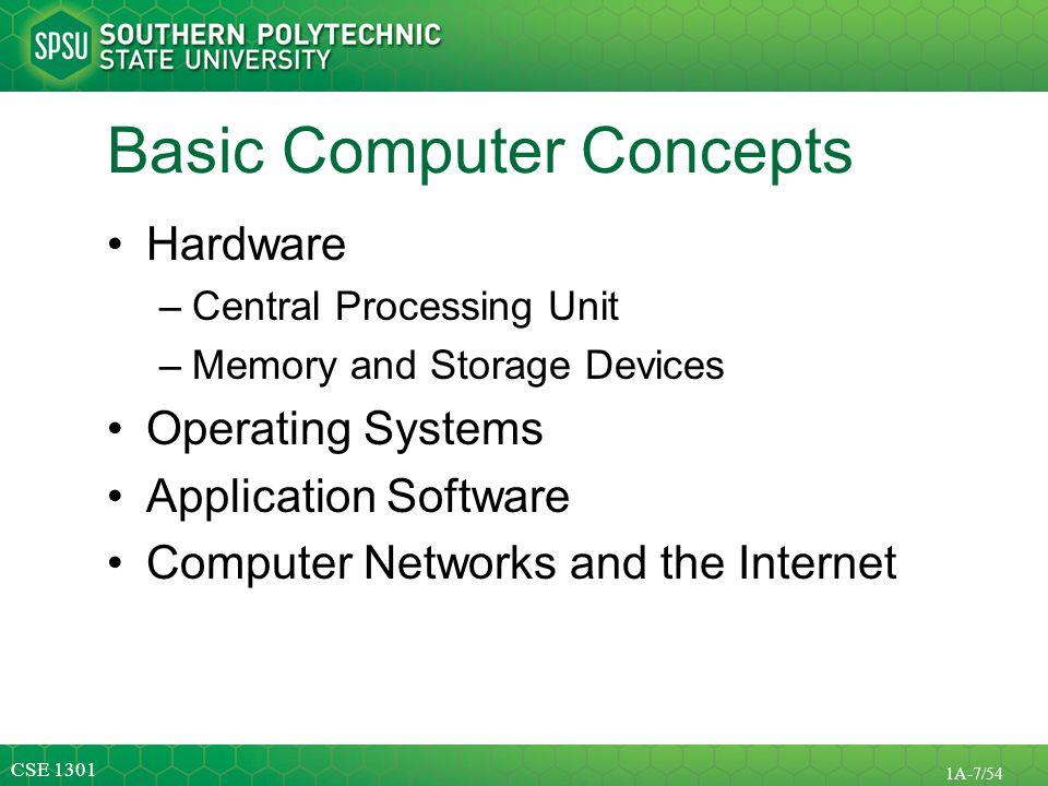 Basic Computer Concepts