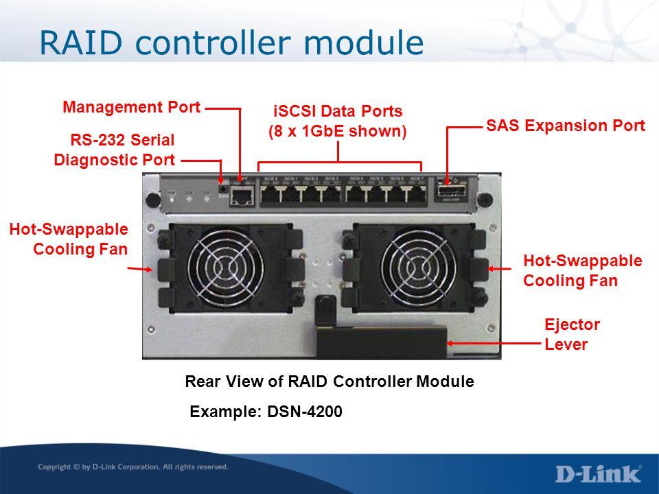 RAID controller module