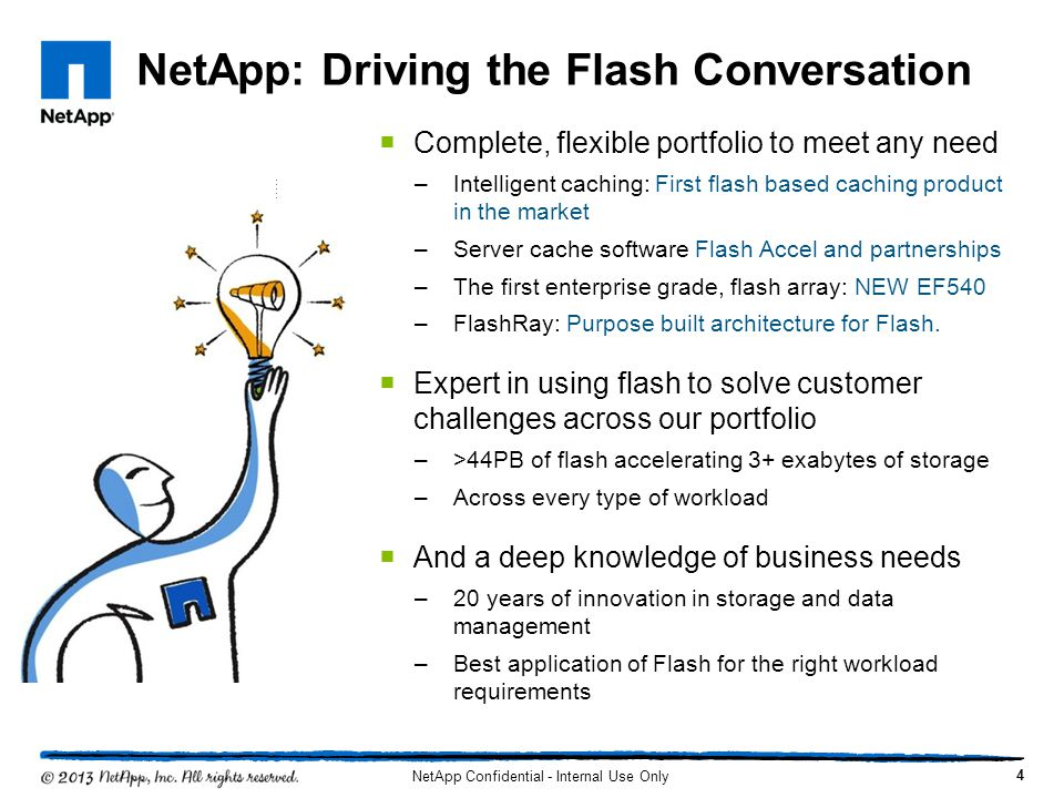 NetApp: Driving the Flash Conversation