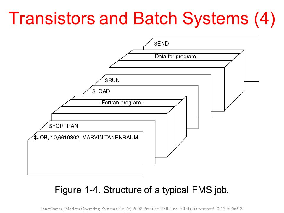 Transistors and Batch Systems (4)