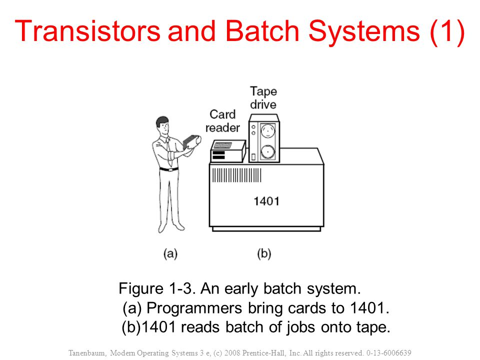 Transistors and Batch Systems (1)