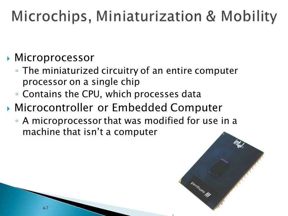 Microchips, Miniaturization & Mobility