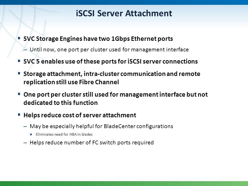 iSCSI Server Attachment
