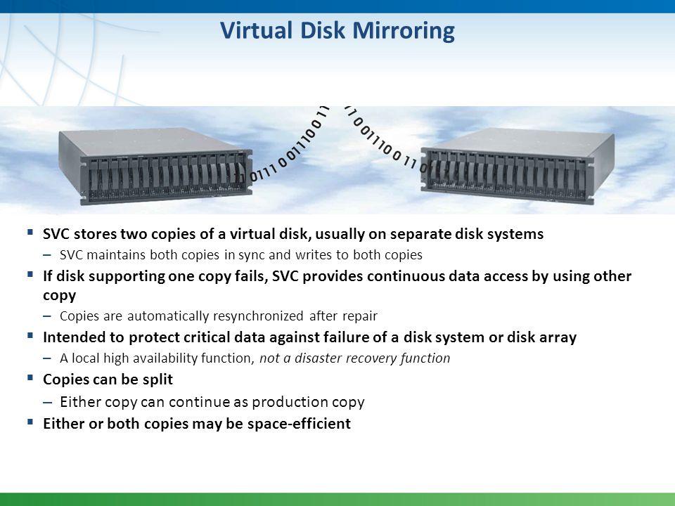 Virtual Disk Mirroring