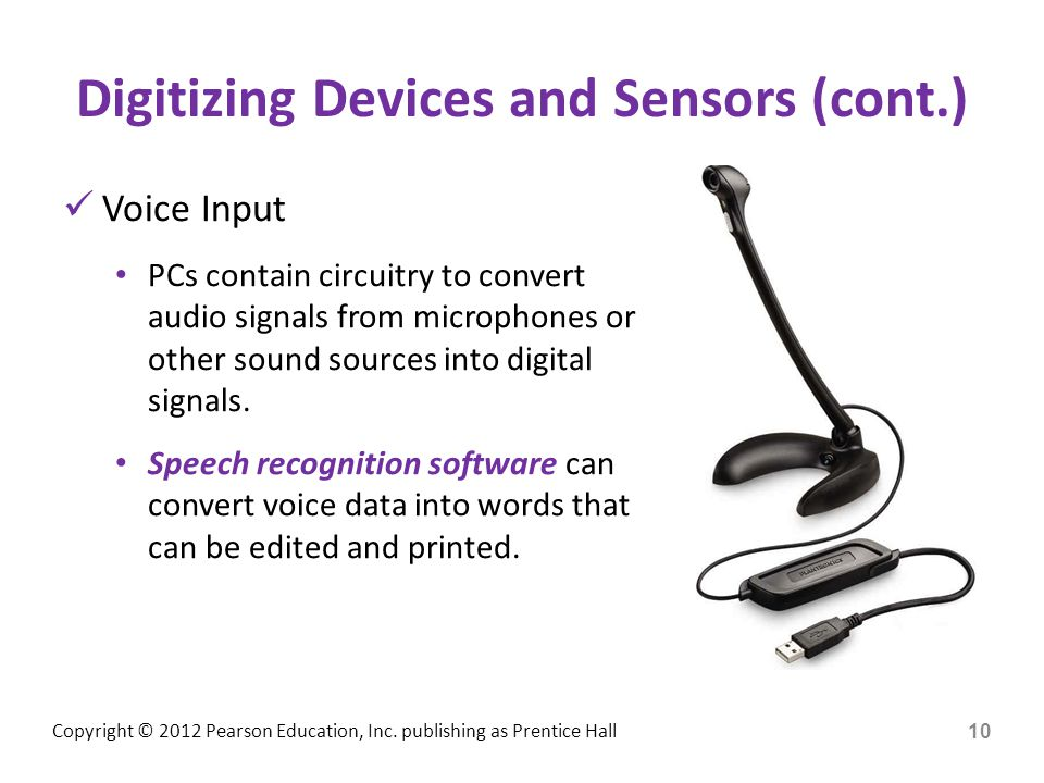 Digitizing Devices and Sensors (cont.)