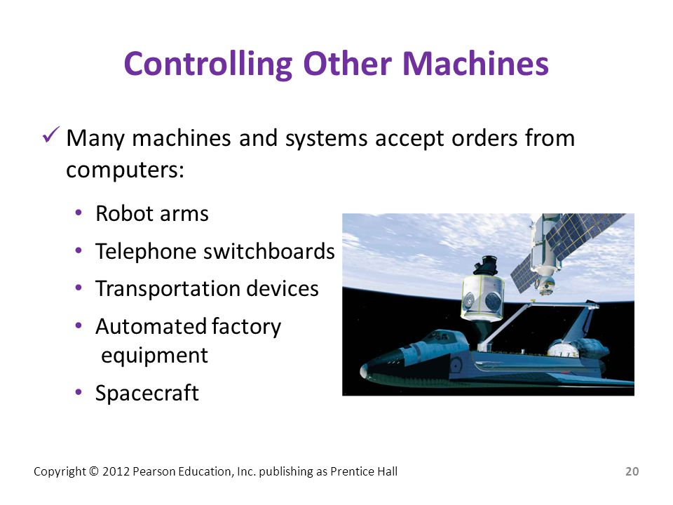Controlling Other Machines