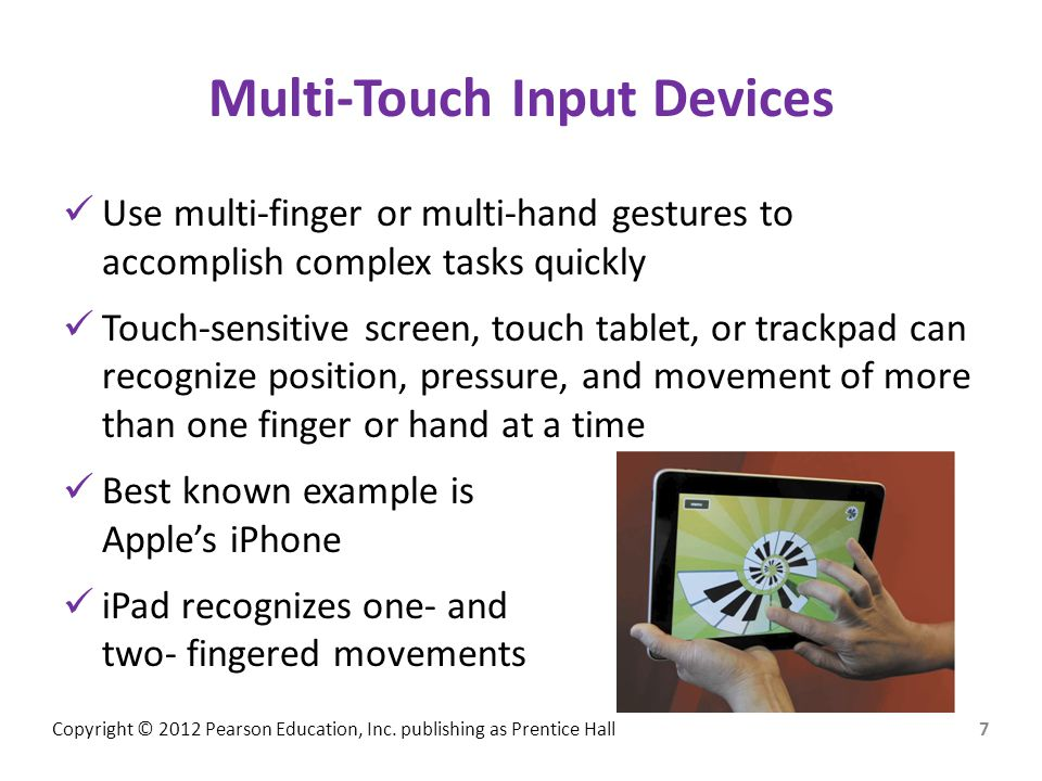 Multi-Touch Input Devices