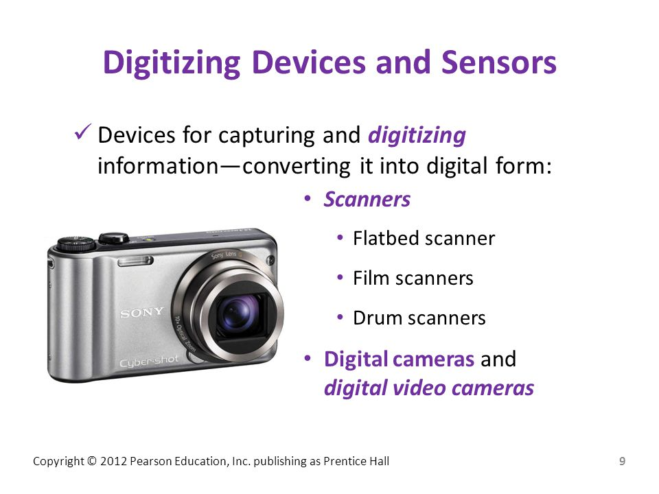 Digitizing Devices and Sensors